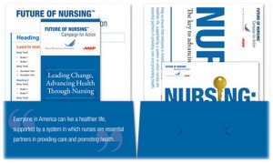 Campaign for Action Marketing Materials- Branded Folder
