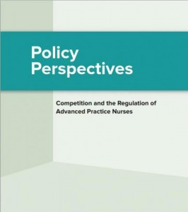 Cover of FTC staff paper; Policy Perspectives: Competition and the Regulation of Advanced Practice Nurses