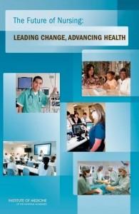 Future of Nursing Report cover