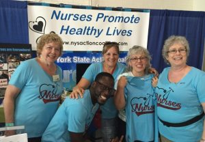 New York Nurses Go to the Fair