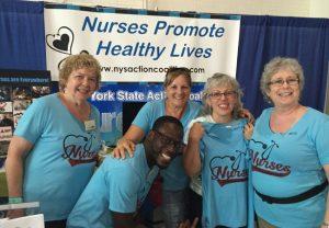 New York Nurses Go to the Fair