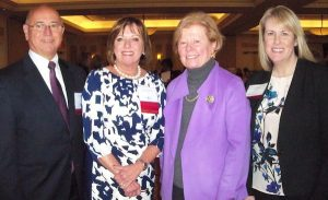 four leaders of the Massachusetts Healthcare Workforce Summit