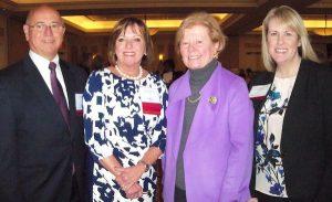 four leaders of the Massachusetts Healthcare Workforce Summit