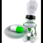 Can Robots Ease the Shortage? Robot serving medicine
