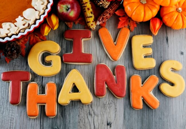 Thanksgiving 2016 - Giving Thanks