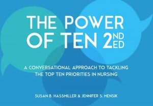 Cover of the Power of Ten where 50 Nurses Outline Profession's Most Pressing Issues