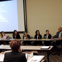 Connecticut summit participants listen to presenation