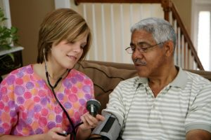Nurse practitioner makes  House Calls