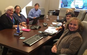Executive team meets to develop FONWV Strategic Plan 2017-2020