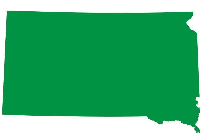 map of South Dakota - New Law Soon to Provide South Dakotans Better Health Care Options