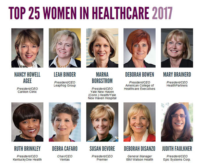 Modern Healthcare Top 25 Women in Healthcare