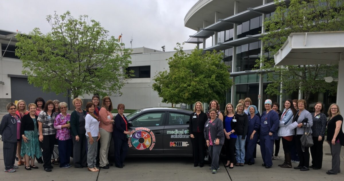 Pictured are participants from Regional West Health in Scottsbluff, Neb who attended Nurses Week 2017 celebrations in Nebraska.