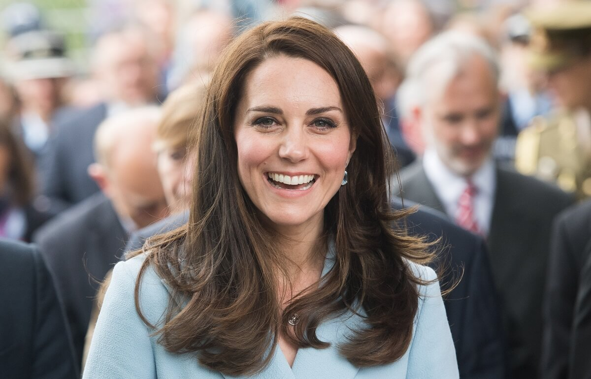 Photo of the Duchess of Cambridge, who will participate on Feb. 27 in a launch event of Nursing Now, a new global campaign to strengthen the nursing profession.