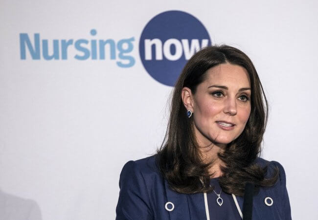 Duchess of Cambridge Helps Launch New Global Nursing Campaign