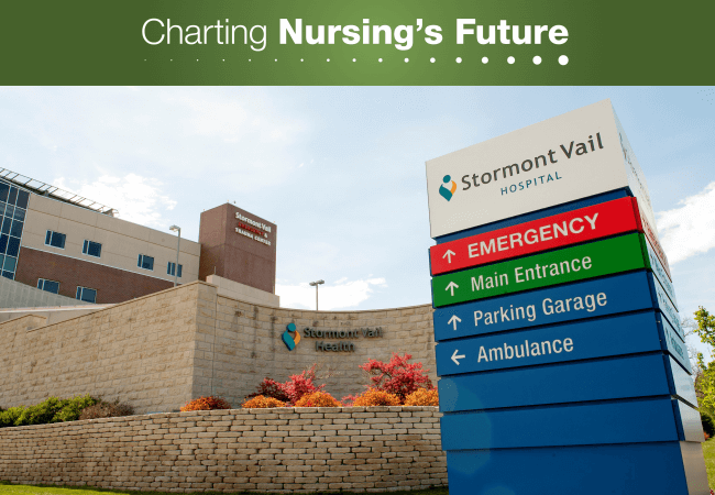 Stormont Vail Hospital, in Topeka, Kansas, is located in an area identified by Polaris as a hotspot for human trafficking.