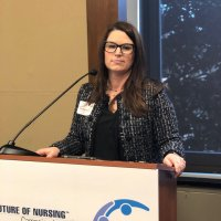 Rachel Stevenson represented the Nursing Community Coalition.