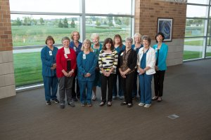 Group photo of emeritus nurses at Parkview Health.