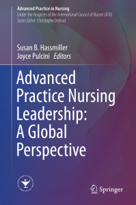 book cover of Advanced Practice Nursing Leadership: A Global Perspective.